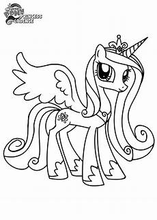 Ausmalbilder Pony Prinzessin Ausmalbild Prinzessin Cadance