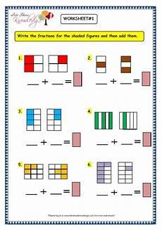 addition fraction worksheets for grade 3 9191 grade 3 maths worksheets 7 6 adding fractions lets knowledge