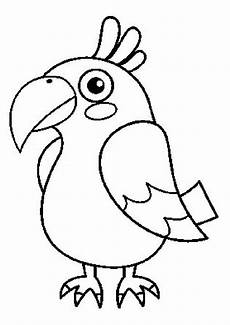 Ausmalbilder Tiere Papagei Ausmalbilder Papagei 12 Ausmalbilder Tiere