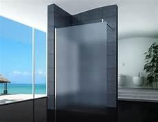 Walk In Dusche Milchglas - walk in duschabtrennung duschwand seitenwand 40 160 cm