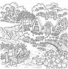 400 melhores ideias de colorir paisagens cestres em