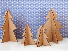 baum basteln pappe make mini trees from pipe cleaners and cardboard