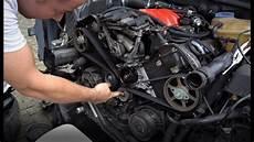 Zahnriemen Wasserpumpe Und Thermostat Wechseln Audi A6 2