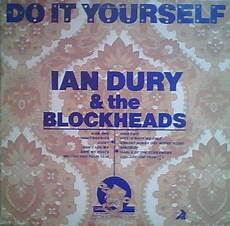 do it your self ian dury and the blockheads do it yourself vinyl lp