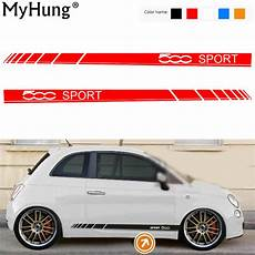 car sticker for fiat 500 sport car stickers and
