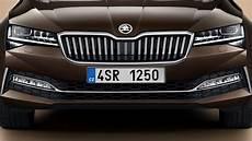 2020 skoda superb new skoda superb l k 2020 facelift more luxury tech