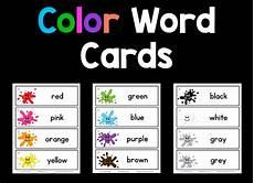 colors printable word 12830 color word cards prekinders