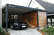 Carport Mit Schuppen Metall - der metall carport mit abstellraum made for you