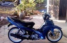 Jupiter Z1 Modif by Dunia Modifikasi Modifikasi Motor Yamaha Jupiter Z1 Biru