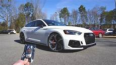 2019 audi s5 sportback white 2019 audi rs5 sportback start up exhaust test drive and