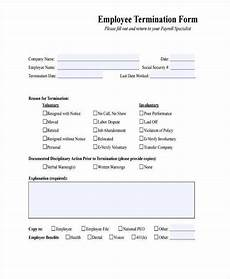 employment termination agreement form sle letter documents pdf word joint venture agreement