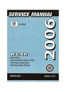 best car repair manuals 2006 buick lucerne free book repair manuals 2006 buick lucerne factory service manual