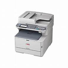 oki wireless color laser all in one printer scanner copier and fax mc562w office depot