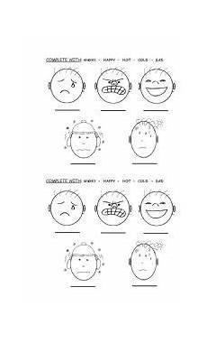 feelings let 180 s complete esl worksheet by rocio88