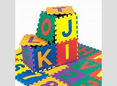Kidzone 12?x12? Kids Baby EVA Foam Play Mats, Alphabet ABC