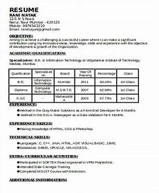 download resume formats pdf templates