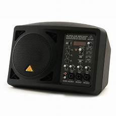 behringer b207mp3 active pa monitor speaker system with mp3 player