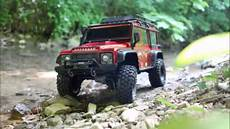 traxxas land rover traxxas trx 4 land rover defender out of the box into