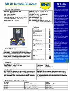 material safety data sheet msds wd 40