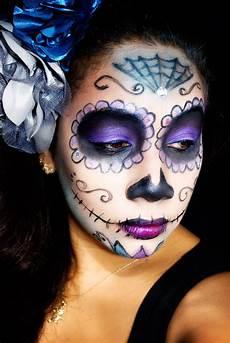 Makeup Tutorial Sugar Skull Makeup Honeygirl
