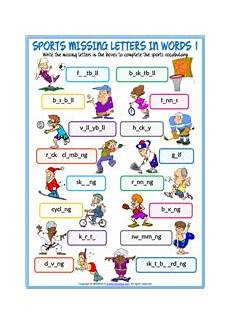 sports related worksheets 15870 sports esl vocabulary worksheets