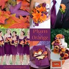 plum wedding color four fantastic choices orange wedding colors autumn weddings and autumn