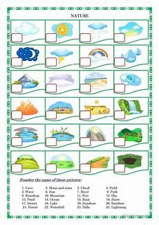 nature worksheets for nursery 15117 nature worksheet free esl printable worksheets made by teachers