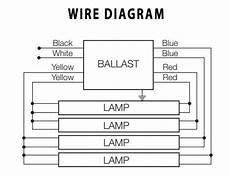32 Watt Electronic Ballast Wiring Diagram by Electronic Ballast Osram Sylvania 3 Or 4 L Qtp 4x32t8