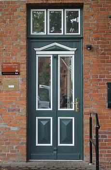 Haustüren Holz Weiß - haust 252 r holz gr 252 n haus deko ideen