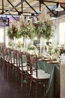18 Creative Ways To Use Pas Grass In Your Wedding Décor