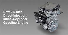 New 2 5 Liter Direct Injection Inline 4 Cylinder Gasoline