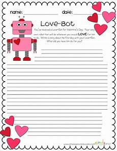 s day worksheets elementary 20348 free s day writing activity for your classroom valentines ideas for