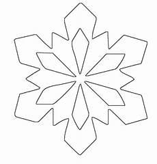 malvorlagen winter rolls simple snowflake patterns ausmalbild schneeflocken und