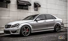 Mercedes W204 C63 Amg With Cec C884 Wheels Benztuning