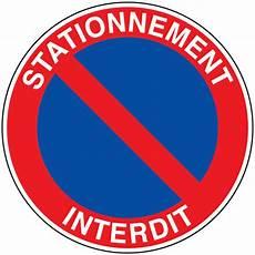 panneau stationnement interdit signals