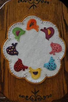 felt applique patterns 397 best candle mats images on felt