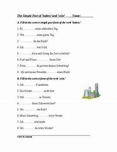 german worksheets verbs 19737 german simple past tense imperfekt 1 handout 2 worksheets tpt