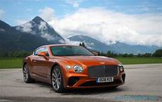 bentley continental gt 2019 2019 bentley continental gt drive return of the king slashgear