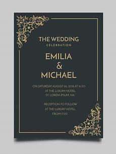 15 Desain Undangan Pernikahan Simple V Co Jewellery News