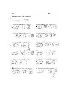 finding slope ws 2 answer key pdf name period finding slope 2 using slope formula 32 1 x2 x1