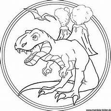 Mandala Malvorlagen Dinosaurier T Rex Mandala Malvorlage Patrones De Bordado