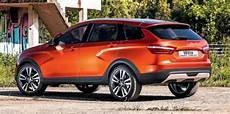 Lada Vesta Cross Suv Concept Revealed