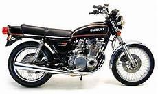 Suzuki Gs550 Model History