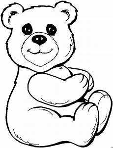 Ausmalbilder Weihnachten Teddy Suesser Teddybaer 3 Ausmalbild Malvorlage Tiere