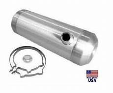 11 gallon 10x33 end fill spun aluminum gas tank 3 8 npt offset outlet bung ebay