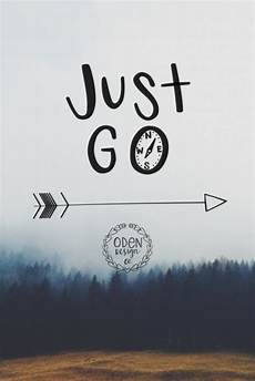 18x24 quot just go quot wanderlust lettered quote poster aftcra