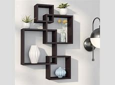 Langley Street Elizabella Intersecting Cubes Shelf
