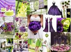 wedding ideas purple and green wedding