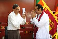 mahinda rajapaksa leaves president sirisena s party to join outfit formed by his supporters