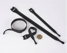 klett kabelbinder rolle velcro 174 klett kabelbinder 200mm rolle 25 st 252 ck schwarz